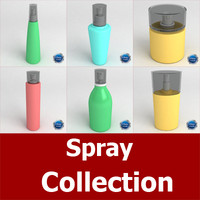 spray 3d dxf