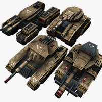 3d 4 tanks
