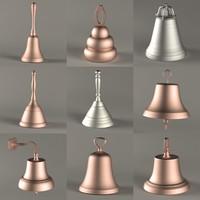 9 bells 3d model