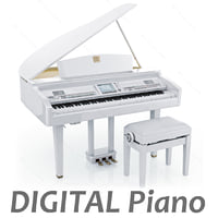 Digital Grand piano from Yamaha CVP-409 GP (White)