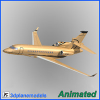 3ds dassault falcon 7x private