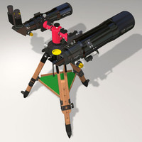 3d model giro tko tripod 80mm