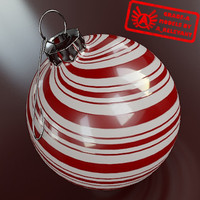 Ornament 5 - High Quality Christmas Ornament - 3ds max 2010 - Mental Ray