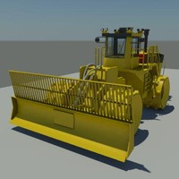 3ds max trash compactor