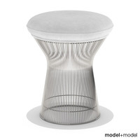 3dsmax platner stool knoll chair