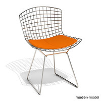 bertoia chair knoll 3d model