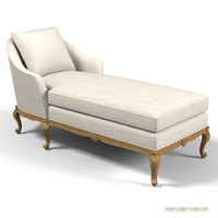 ralph lauren classic cannes chaise lounge  louis XV french style settees