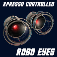 cinema4d xpresso controlled robotic eyes