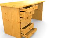 standart desk 3ds