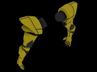 maya armor arms