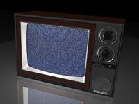 3d 80 s tv set model