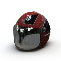 3d helmet solidworks assembly model