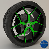 Asanti AF1 Monoblock 164 Green & Black