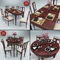 c4d dinner tables