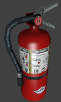 Fire Extinguisher and Case
