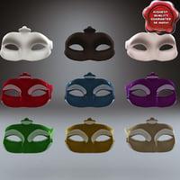 3d model masquerade mask