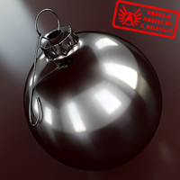 Ornament 15 - High Quality Christmas Ornament - 3ds max 2010 - Mental Ray