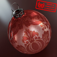 Ornament 23 - High Quality Christmas Ornament - 3ds max 2010 - Mental Ray
