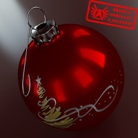 3d christmas tree ornament 2010