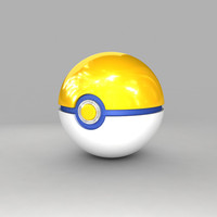 pokemon ball park 3d model
