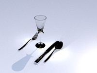 Glass And Silverware