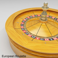 Roulette Wheel 1 (American and European)