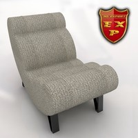 3d model of cloud chair -