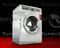 3d model of arcelik washing machine