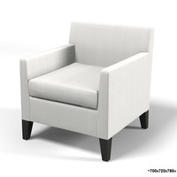 andreu world anna lounge modern contemporary armchair club chair