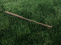 wooden baseball bat 3d max