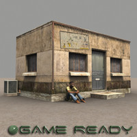 3d model somalia building games