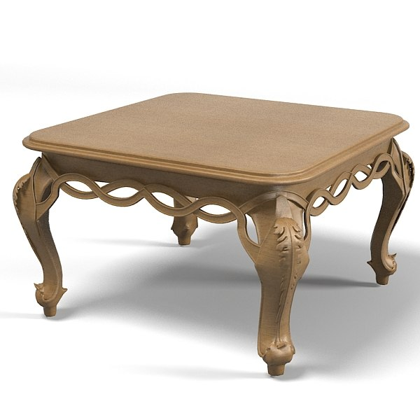 Chelini ftbl classic 3d model for New model wooden dining table