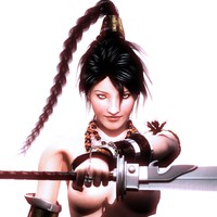 woman sword samurai 3d ma