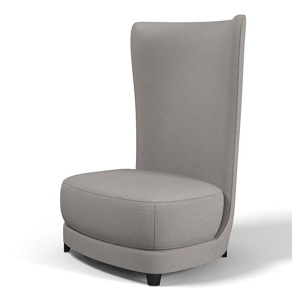 contemporary club chair armchair modern high seat back.jpg