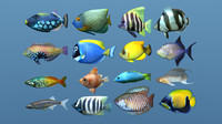 16 More Tropical Fish (ma, obj)