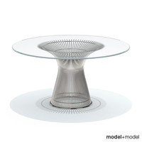 3d platner dining table knoll