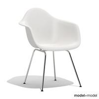 max eames plastic armchair dax