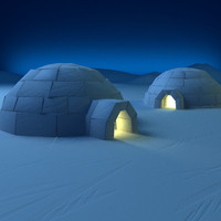 3ds max igloo