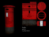 Post box - Low Poly