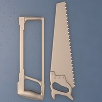3d model of saw