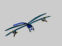 cartoon dragonfly 3D models