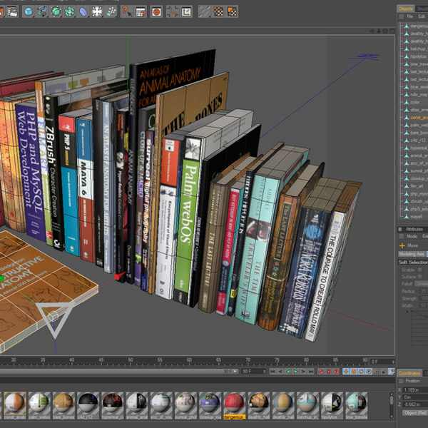 book paperback 3d model - Textured Books Collection 1... by Jamie Hamel Smith