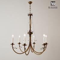 tredici chandelier 3d fbx