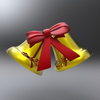3dsmax bell christmas