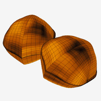 3d model walnut nut