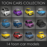 3ds max 14 cartoon cars