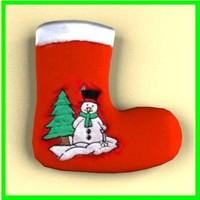 christmas sock 3d dxf