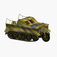 3d model kettenrad