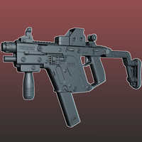 3d tdi sub machine gun model