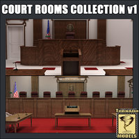 Court Rooms Collection v1 US